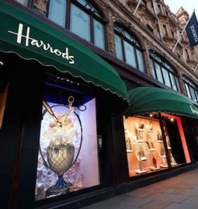 Amanda meads the flower school designs Harrods windows