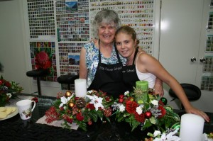 Christmas arrangement course