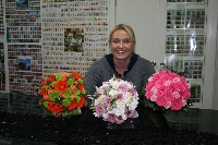 Bev's hand tied bouquets