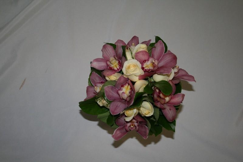 Rachel Bridal hand tied with cymbidium orchids resized