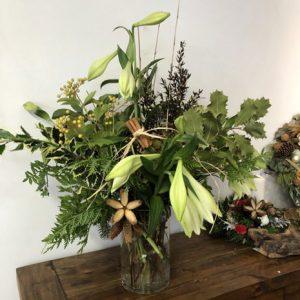 christmas vase display photo 2