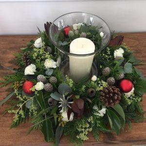 table wreath photo 2